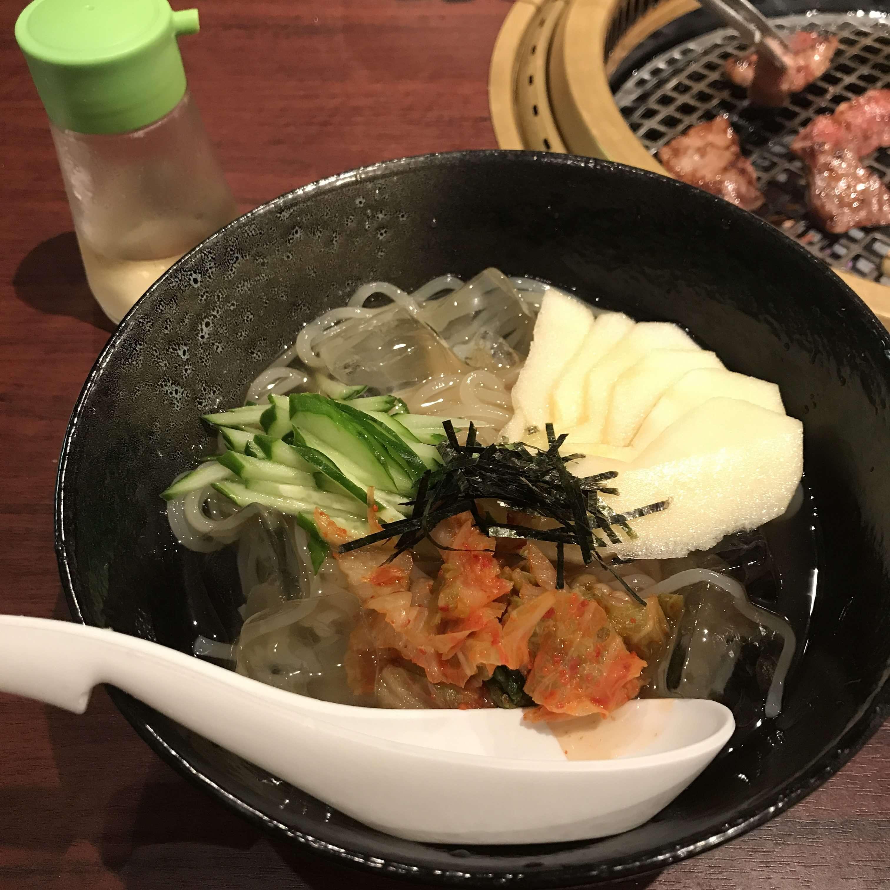 テムジン冷麺1