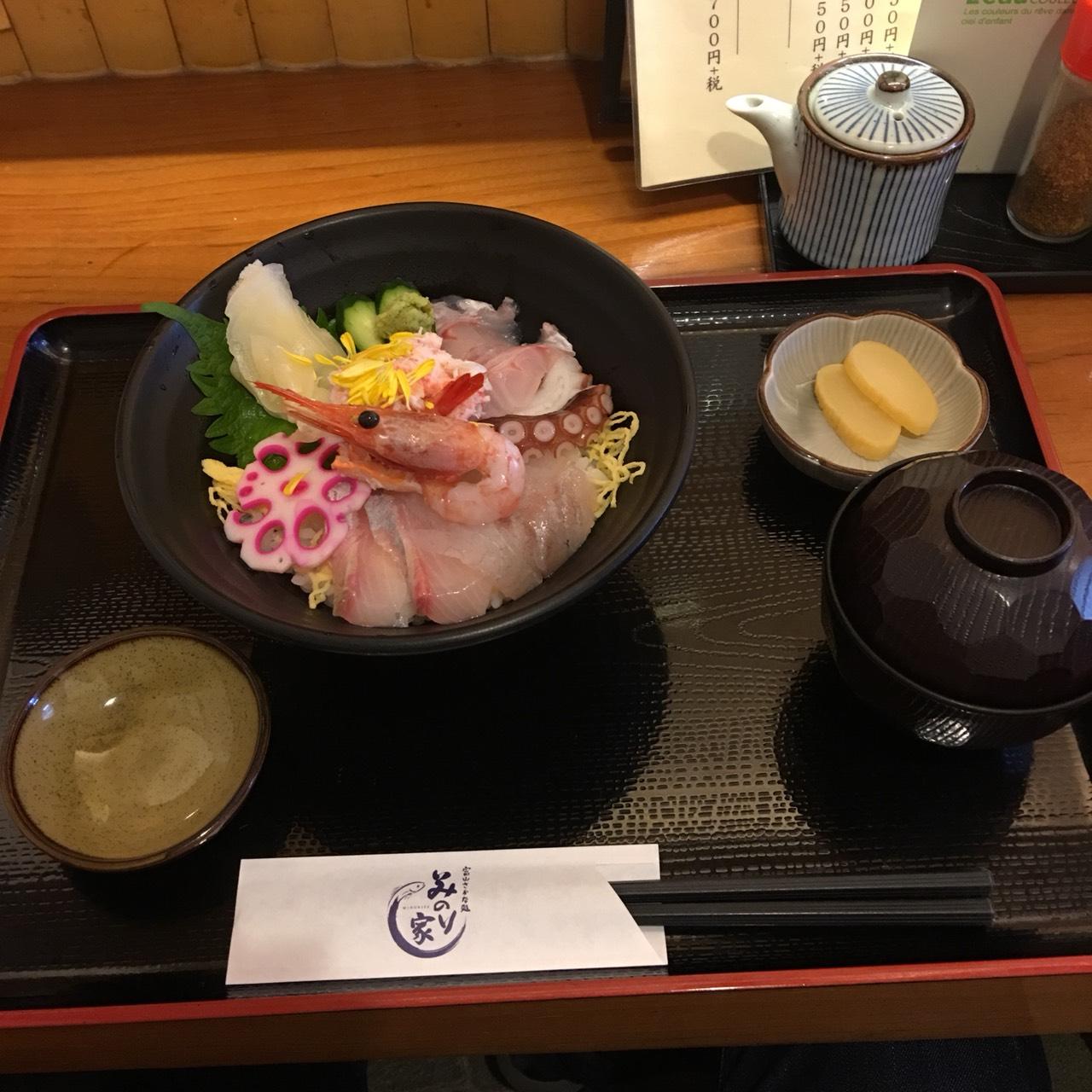みのり家海鮮丼