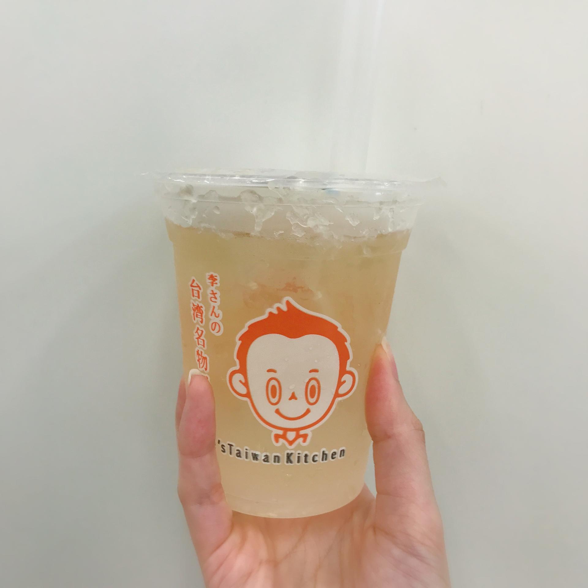 李さんの台湾名物屋台レモン愛玉