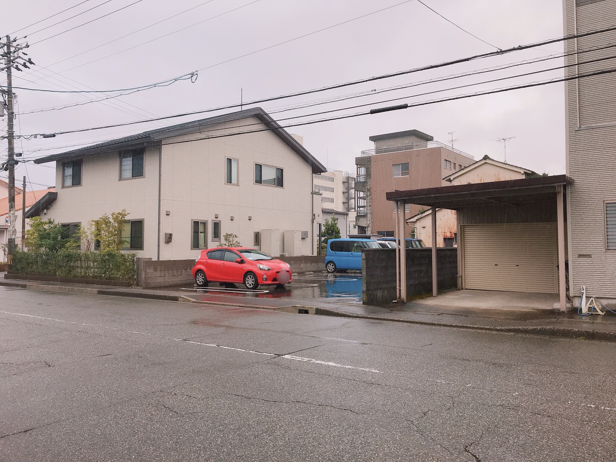 cafe amitie駐車場3