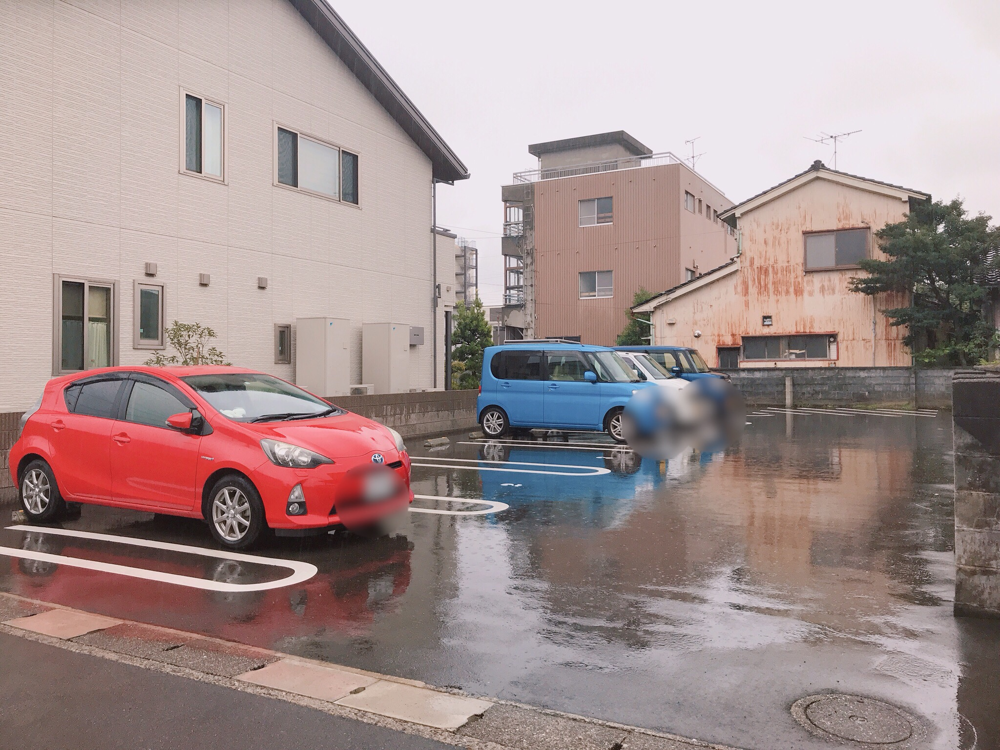cafe amitie駐車場1
