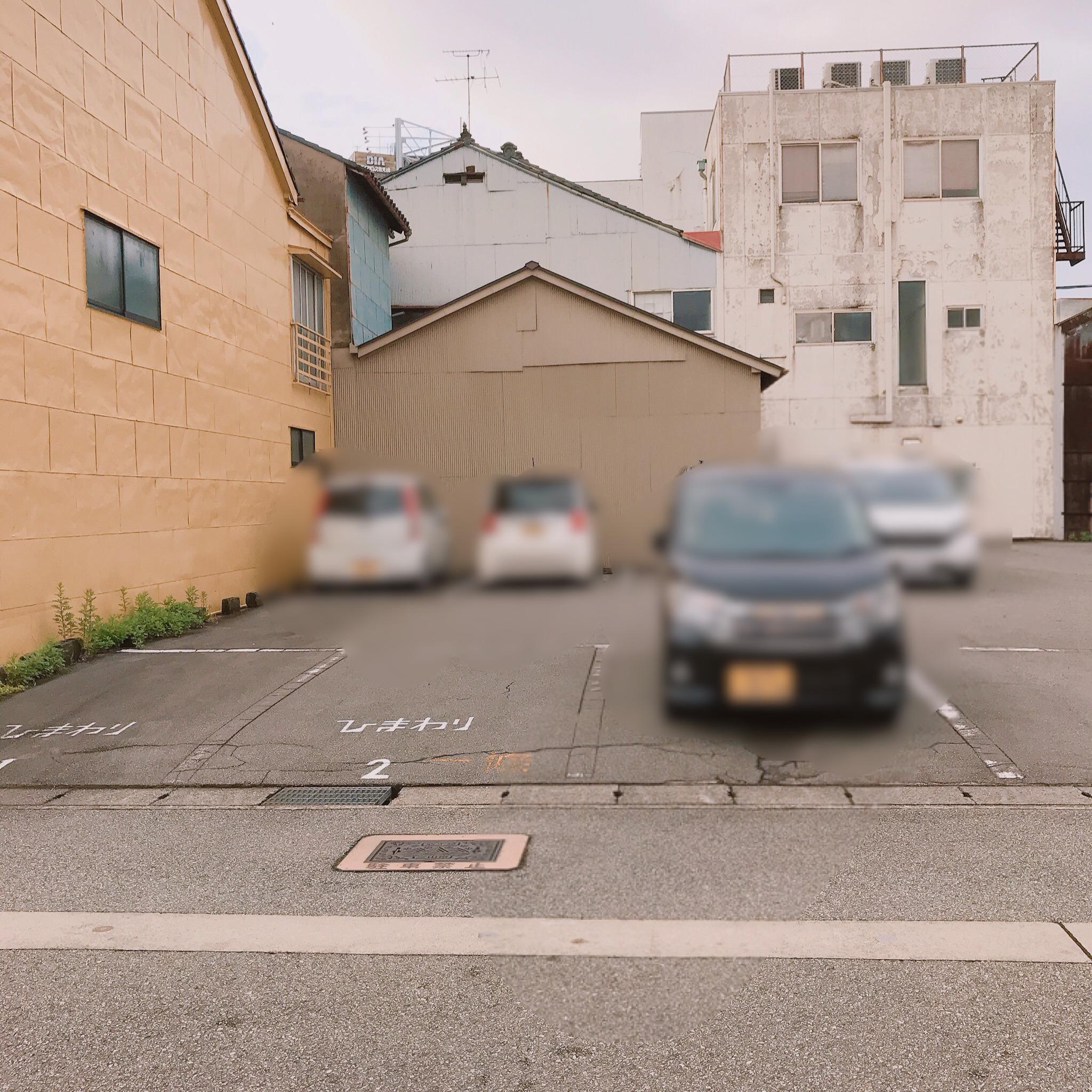 ひまわり食堂駐車場
